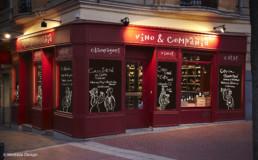 Tienda vinos Plaza Olavide